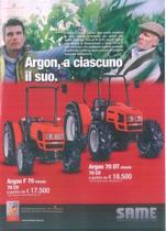 ARGON, a ciascuno il suo