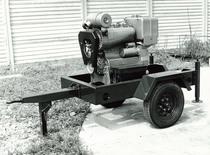 Motore SAME/ADIM serie P per uso industriale - 3 cilindri su carrello