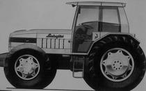 Progetto del trattore Lamborghini 956