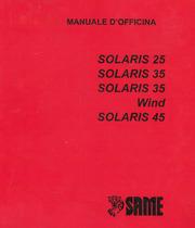 SOLARIS 25 - 35 - 35 WIND - 45 - Manuale d'officina