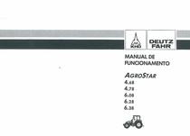 AGROSTAR 4.68 - AGROSTAR 4.78 - AGROSTAR 6.08 - AGROSTAR 6.28 - AGROSTAR 6.38 - Manual de funcionamento
