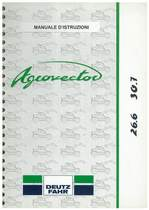 AGROVECTOR 26.6-30.7 - Libretto Uso & Manutenzione