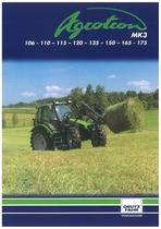 AGROTRON MK 3 106 - 110 - 115 - 120 - 135 -. 150 - 165 - 175