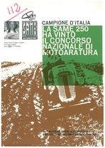 Campione d' Italia La Same 250 ha vinto il concorso Nazionale di motoaratura