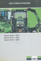AGROTRON M 600 ->20001 - AGROTRON M 610 ->20001 - AGROTRON M 620 ->20001 - Uso e manutenzione