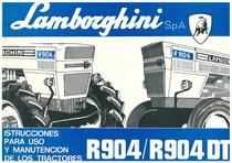 R 904 - R 904 DT - Uso y Mantenimiento