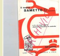 IL NUOVO SAMETTO 120 22 HP- Libretto Uso & Manutenzione
