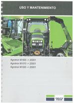 AGROTRON M 600-610-620 - Uso y Mantenimiento