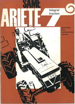 ARIETE T INTEGRAL TRACTION - Operating and maintenance