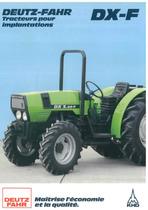 DX - F - DX 3.30 - 3.50 - 3.70 - 3.90 Tracteurs pour implantations