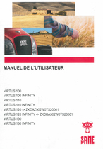 VIRTUS 100 - VIRTUS 100 INFINITY - VIRTUS 110 - VIRTUS 110 INFINITY - VIRTUS 120 ->ZKDAZ902W0TS20001 - VIRTUS 120 INFINITY ->ZKDBA302W0TS20001 - VIRTUS 130 - VIRTUS 130 INFINITY - Manuel de l'utilisateur