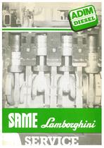 SAME-LAMBORGHINI SERVICE - Servizio assistenza e ricambi / Service and spare parts division