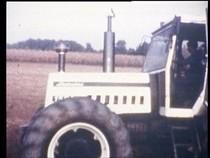 Presentazione trattori LAMBORGHINI R1556 e FIAT 1880, prove di aratura