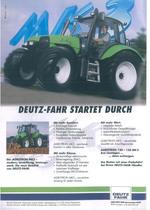 Deutz - Fahr startet durch