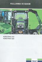 AGROTRAC 610 - 620 - Kullanma ve bakim