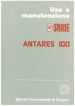 ANTARES 100 - Libretto uso & manutenzione