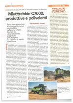 Mietitrebbie C7000: produttive e polivalenti