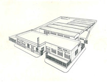 Progetto della sede del concessionario Mancini di Foggia