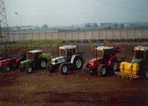 Trattori SAME, Lamborghini e Hürlimann nel campo prove dello stabilimento di Treviglio
