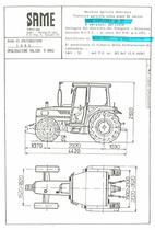 Atto di omologazione della trattrice SAME Explorer 80 DT e versioni derivate