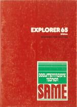 EXPLORER 65 SPECIAL - Bedienung und instandhalthung