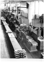 Stabilimento Same - Interno reparto officina, lavorazione dell'albero motore
