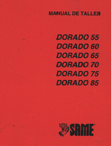 DORADO 55 - DORADO 60 - DORADO 65 - DORADO 70 - DORADO 75 - DORADO 85 - Manual de taller
