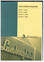 R3 85 T ->1001 - R3 85 T ->5001 - R3 100 T ->1001 - R3 100 T ->5001 - Uso e manutenzione