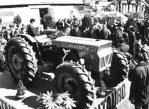 Lancio del trattore SAME Centauro alla Fiera di Casale Monferrato