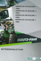 AGROPLUS 310 ECOLINE -> 10001 - AGROPLUS 315 ECOLINE -> 10001 - AGROPLUS 320 ECOLINE -> 10001 - AGROPLUS 410 ECOLINE -> 10001 - Betriebsanleitung