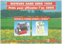 MOTEURS SAME 1000 - PRETS POUR AFFRONTER L'AN 2000