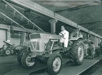 Stabilimento Same Linea di montaggio trattori SAME Atlanta