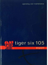 TIGER SIX 105 EXPORT - Operating and maintenance