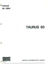 TAURUS 60 - Manual de Taller