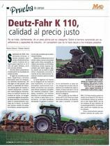 Deutz-Fahr K 110, calidad al precio justo
