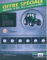 Offre spécial AGROTRON 150 Max: vivez l'espérience au Max!