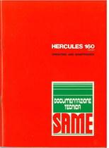 HERCULES 160 EXPORT - Operating and maintenance