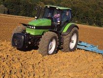 [Deutz-Fahr] trattore Agrotron 195 al lavoro con dissodatore