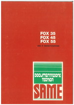 FOX 35-45-55 - Libretto uso & manurtenzione