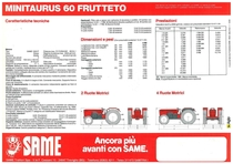 MINITAURUS 60 FRUTTETO