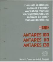 ANTARES 100 - 110 - 130 - Werkstatthandbuch