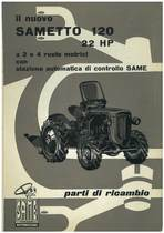 SAMETTO 120 HP 22 - Catalogo Parti di Ricambio