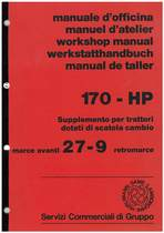 170 HP - Supplemento Manuale d'Officina