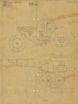 Trattorino 10 cv - Disegno 2053