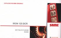 IRON 125 DCR - Catalogo ricambi originali