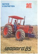 LEOPARD 85 - Utilisation et entretien