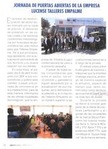 Jornada de puertas abiertas de la empresa lucense Talleres Empalme