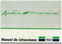 AGROTRON TTV 1130-1145-1160 - Uso y Mantenimiento