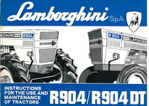 R 904 - 904 DT - Operating and Maintenance
