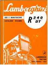 R 340 DT - Libretto Uso & Manutenzione
